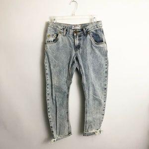 One Teaspoon Lonely Boys Jeans Sz 24 (2) Rigid Low
